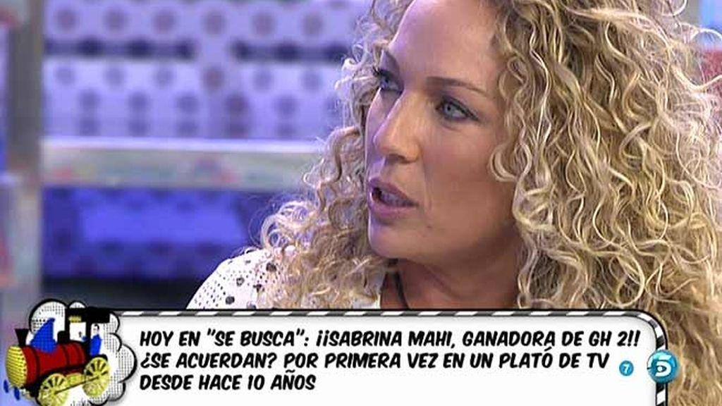 """Sabrina, ganadora de 'GH 2': """"Fui yo quien le pidió el divorcio a Ángel"""""""