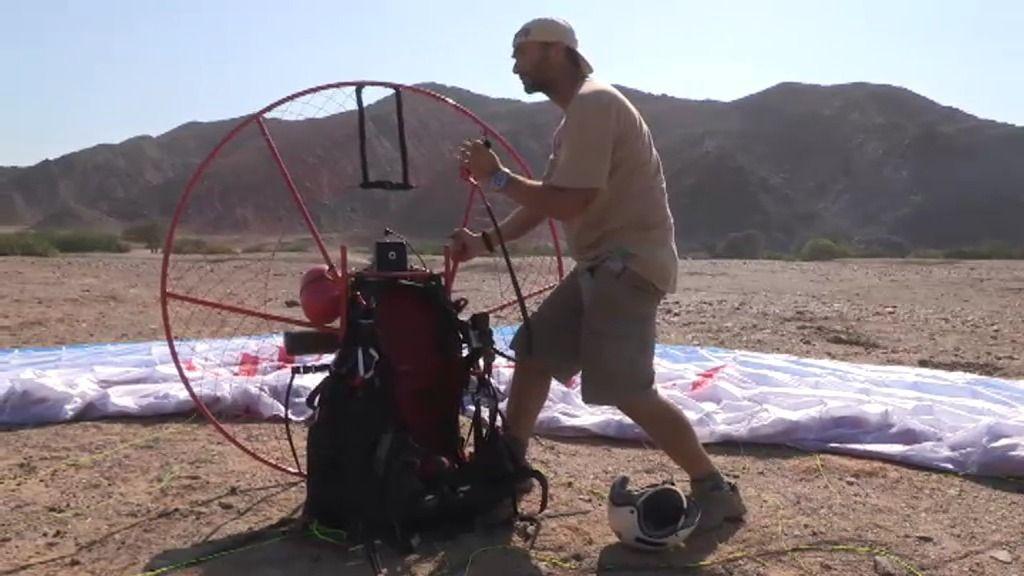 Últimas pruebas para lanzarse sobre el desierto en busca de elefantes