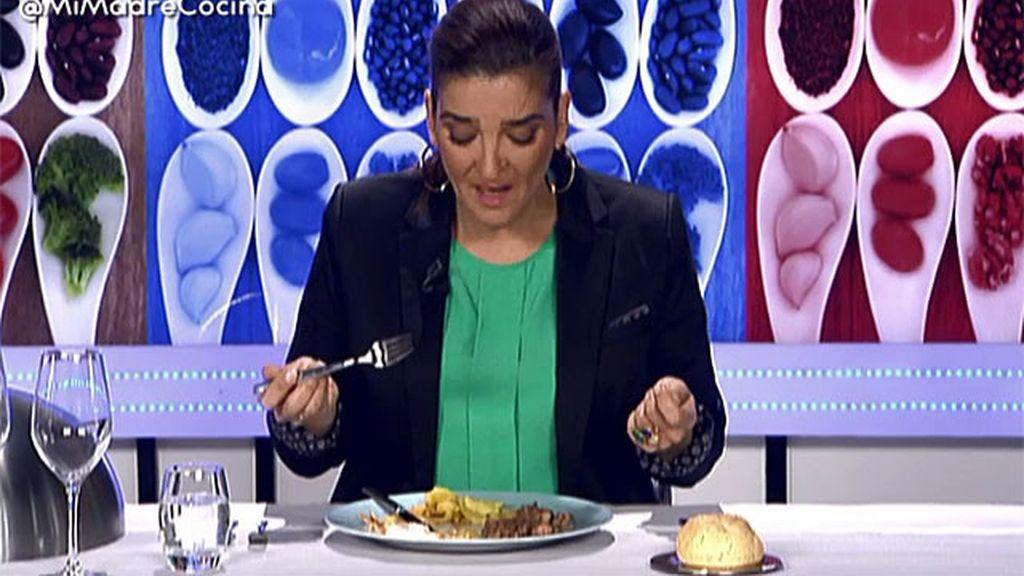 """Mª Jiménez Latorre, sobre el plato de Beatriz: """"Tiene mucho título pero pocas nueces"""""""