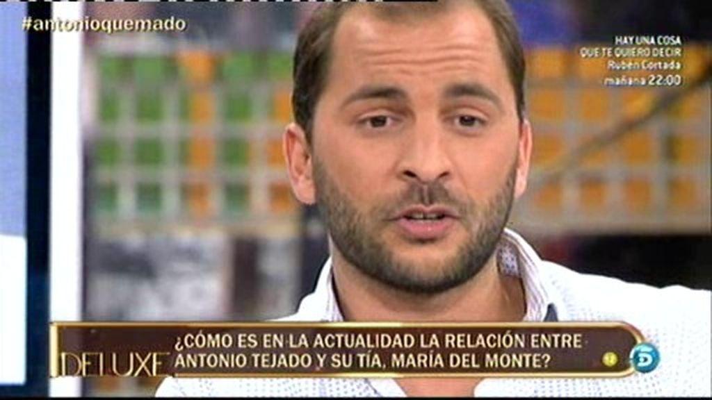 """Antonio Tejado: """"No tengo ninguna relación con María del Monte"""""""