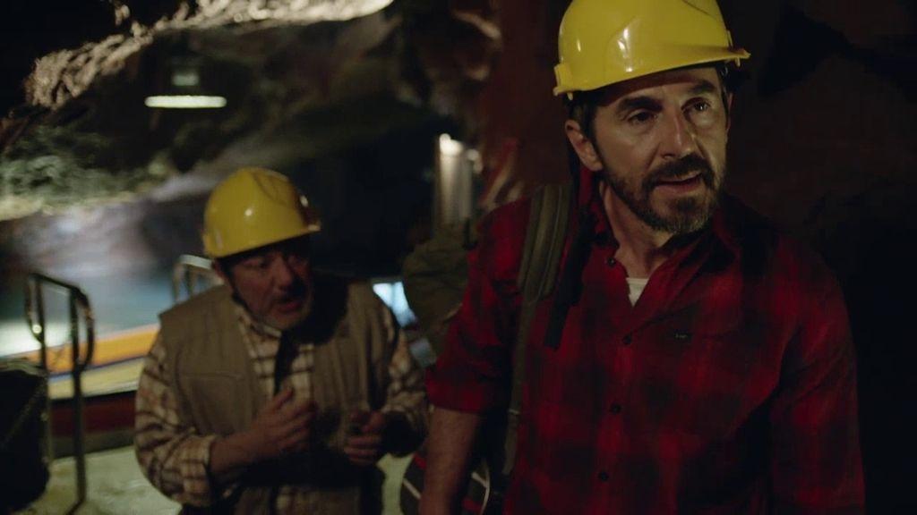 Pepe y Sergi se pierden en una cueva al intentar cumplir la última voluntad de Antxon