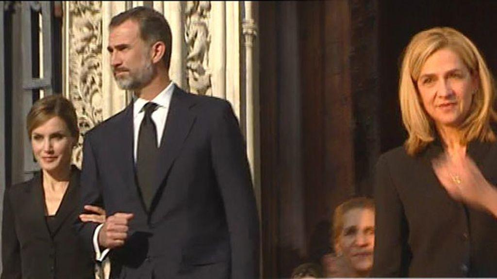 Los detalles del no encuentro de los Reyes con la Infanta Cristina