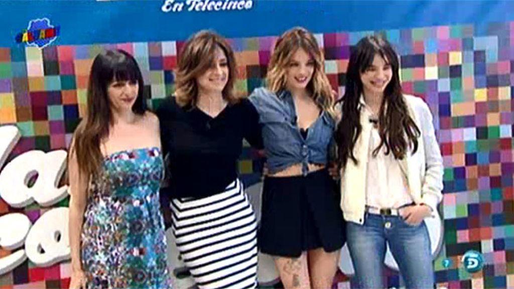 ¿Quiénes son las cinco presentadoras de 'Hable con ellas en Telecinco'?