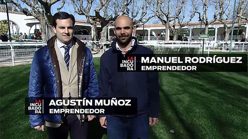 Manuel y Agustín quieren revolucionar el mundo de las carreras de caballos