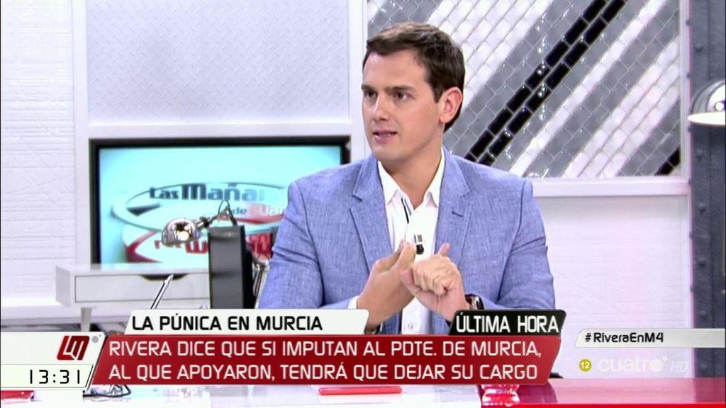 """Rivera: """"No se puede investigar solo cuando una filtración afecta al partido del gobierno"""""""