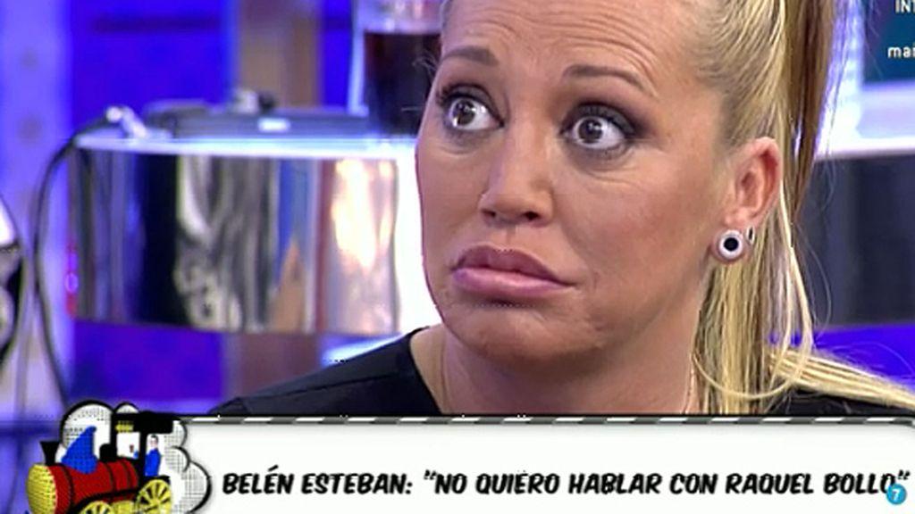 """Belén: """"No quiero hablar con Raquel Bollo"""""""