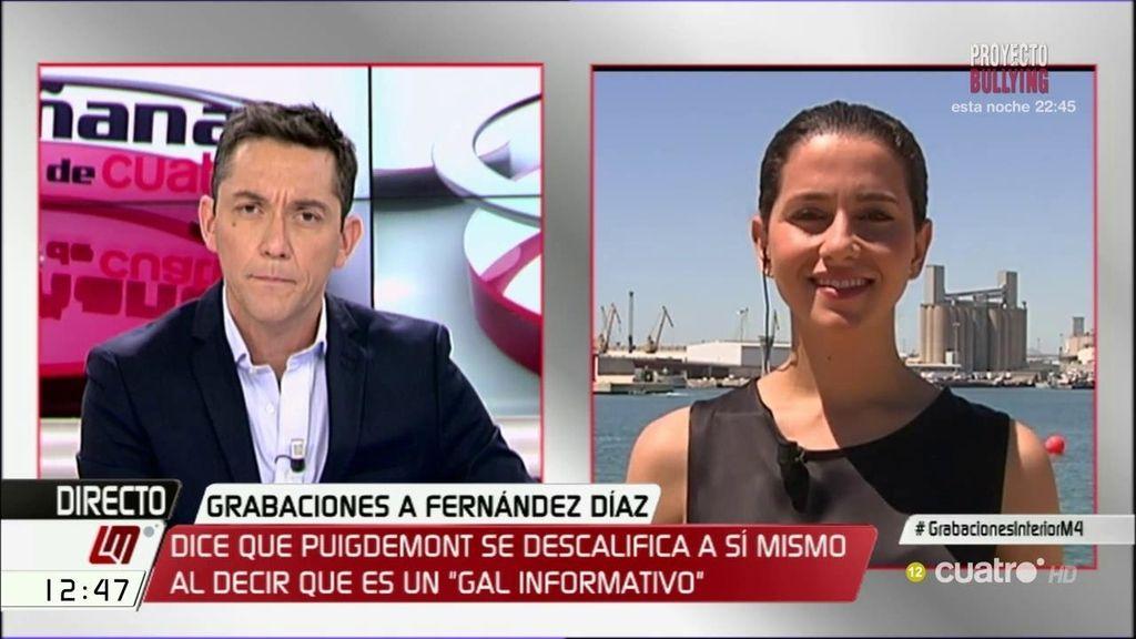 La entrevista de Inés Arrimadas, a la carta
