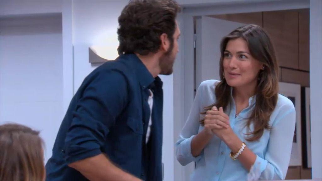 Un ramo de flores para Natalia despierta los celos de Sergio Feo