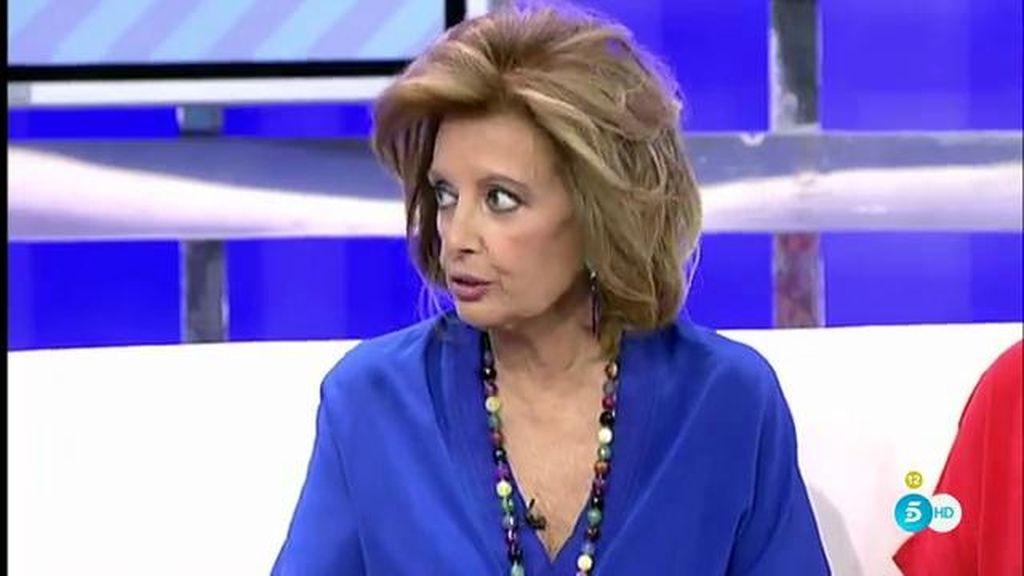 Maria Teresa Campos explica en 'Sálvame' cómo fue su ingreso hospital