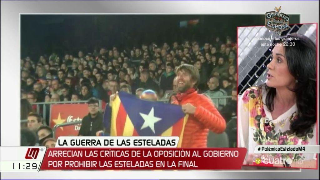 """Paula Prado (PP): """"Representa una opción política, solo de una parte de la sociedad catalana"""""""