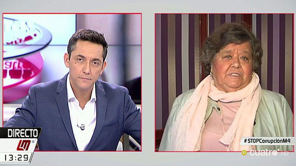 """Cristina Almeida, de Rajoy: """"Es inadmisible que gobierne el capo de la corrupción"""""""