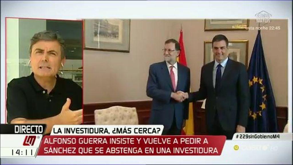 La entrevista a Pedro Saura, a la carta