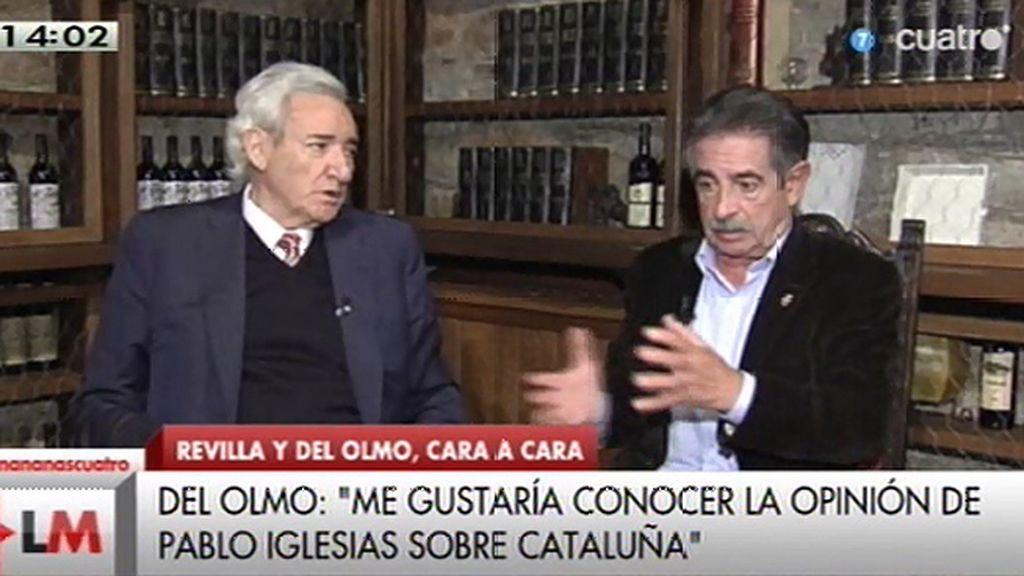 """Luis del Olmo: """"Me daría un disgusto terrible si a Cataluña nos la arrancan de España"""""""