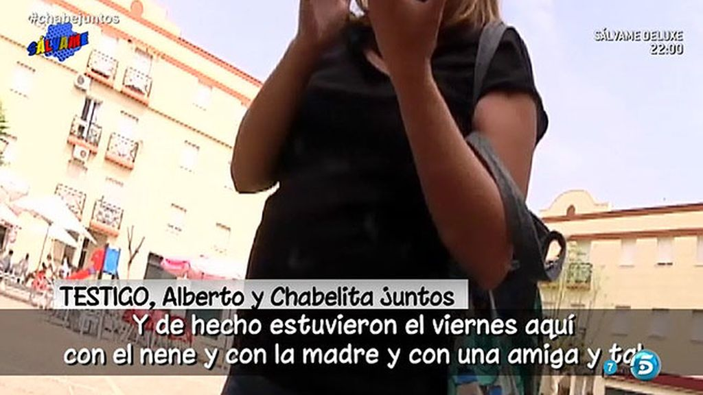 Un testigo asegura haber visto a Alberto Isla y a Chabelita juntos en un coche