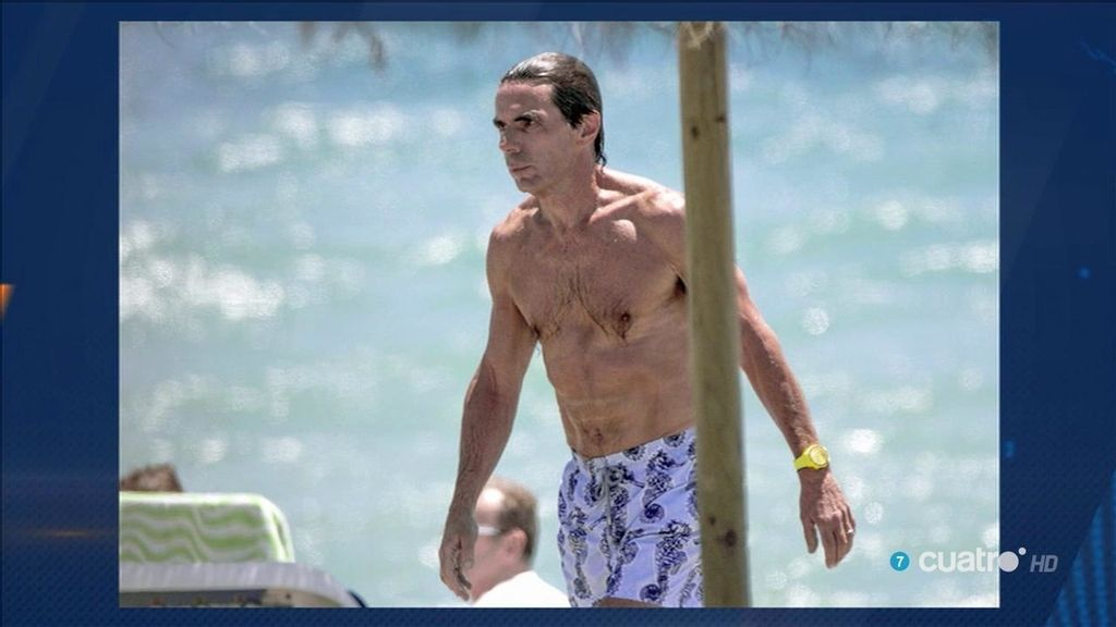 La 'selfipedia' de Aznar: ¡Sus mejores fotos en redes!