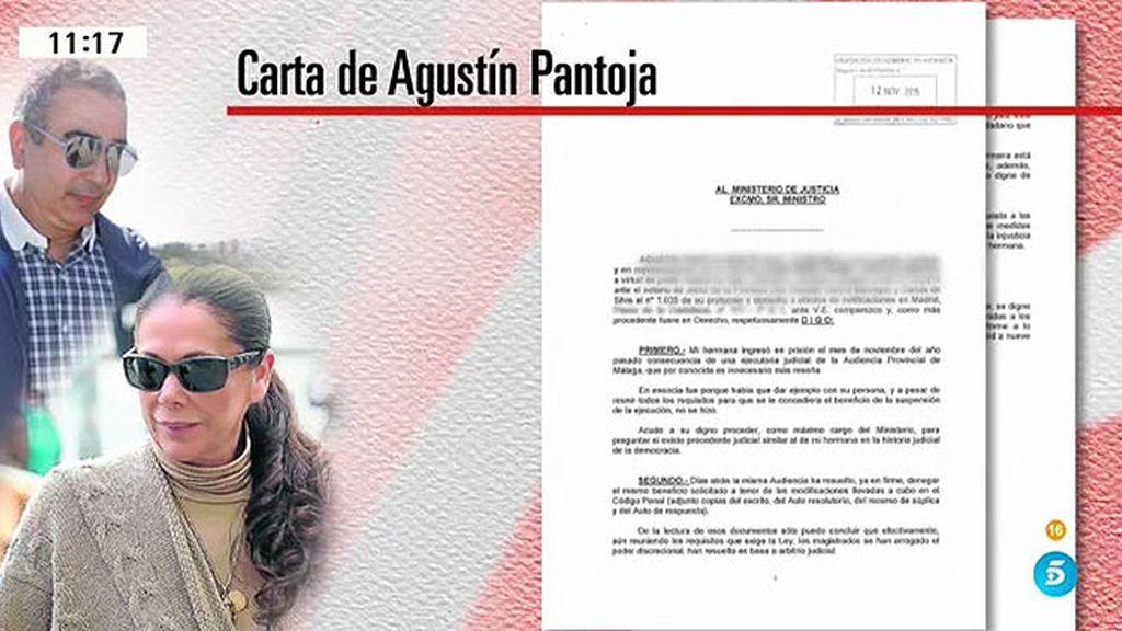 """Agustín Pantoja: """"Mi hermana es como una presa política y está arrepentida"""""""