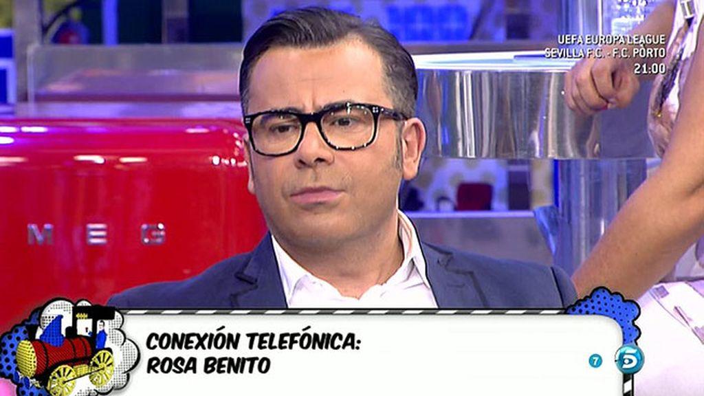 Rosa Benito niega que tuviera intención de comprarse una casa en Alicante