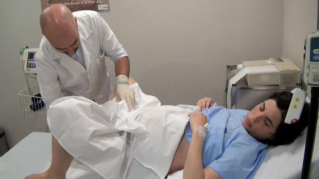 Ingreso en el hospital y gel dilatador: comienza el proceso de parto de Samanta