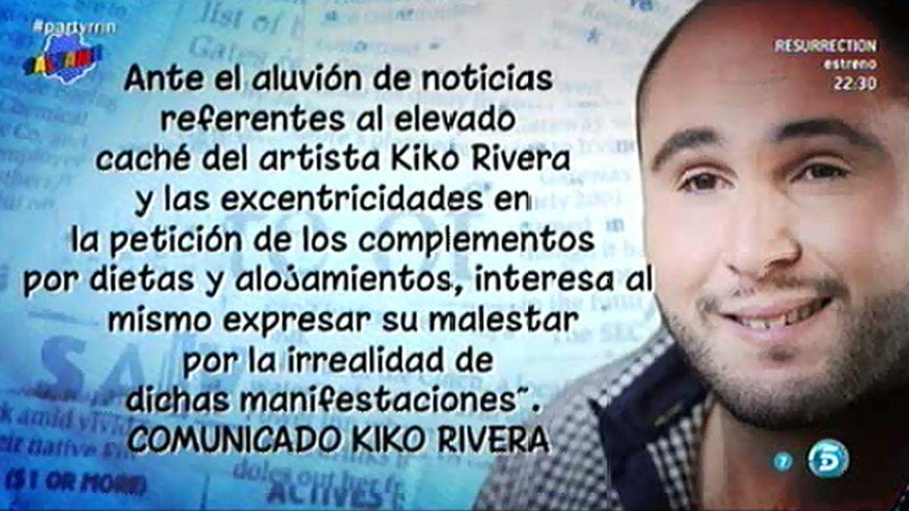 Medina del Campo anula la actuación de Kiko Rivera que tenía prevista para sus fiestas