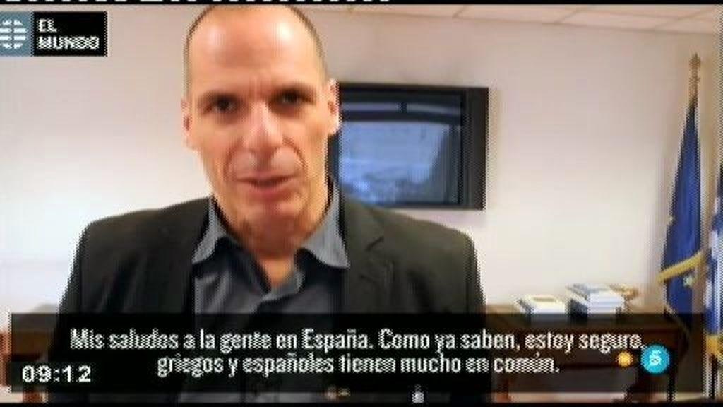 """Varufakis: """"La Unión monetaria está mal diseñada y tenemos que rediseñarla juntos"""""""