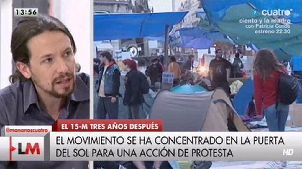"""""""El 15-M es una de las cosas de la que los españoles nos debemos sentir orgullosos"""""""