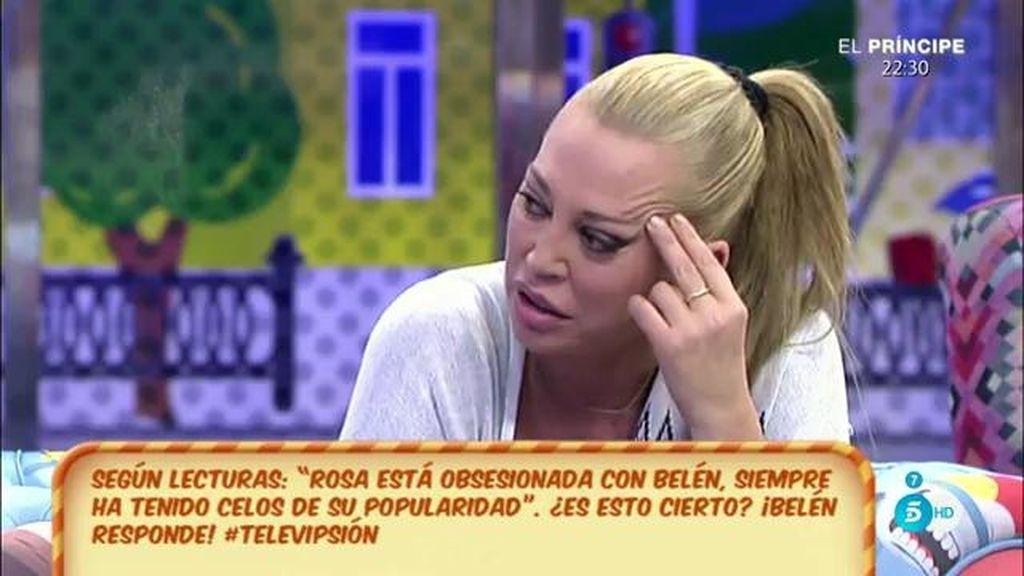 """Belén Esteban: """"Me cuesta pensar que Rosa Benito sienta celos de mí"""""""