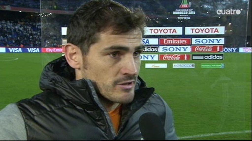 """Casillas: """"Esperamos poner la guinda del pastel a un año muy bonito"""""""