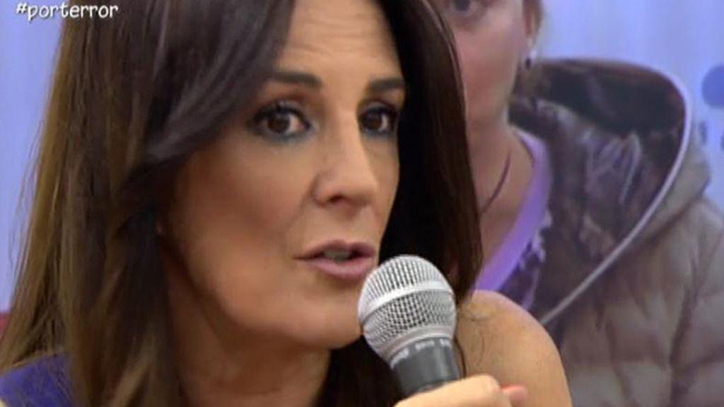 """Ángela Portero: """"Yo no he dicho que Toño y Belén estén detrás de que yo no trabaje"""""""