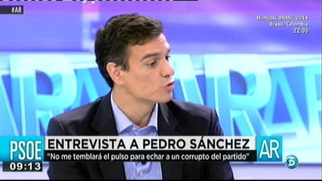 """Pedro Sánchez: """"En España no tienen mucho sentido los aforamientos"""""""