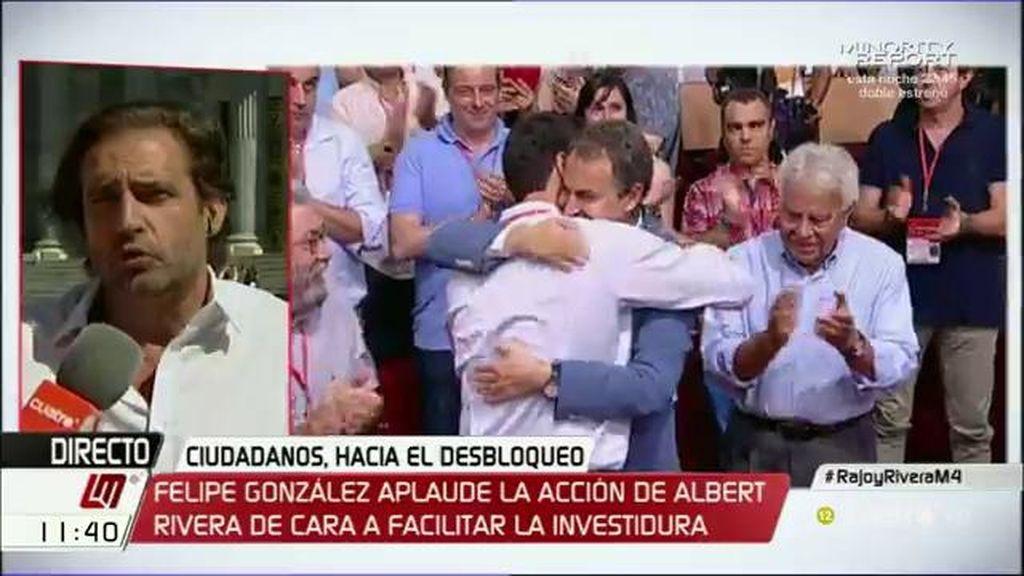"""Luis Arroyo: """"Creo que el PSOE mantendrá el 'no' al PP, otra cosa es que le tenga que prestar dos o tres escaños"""""""