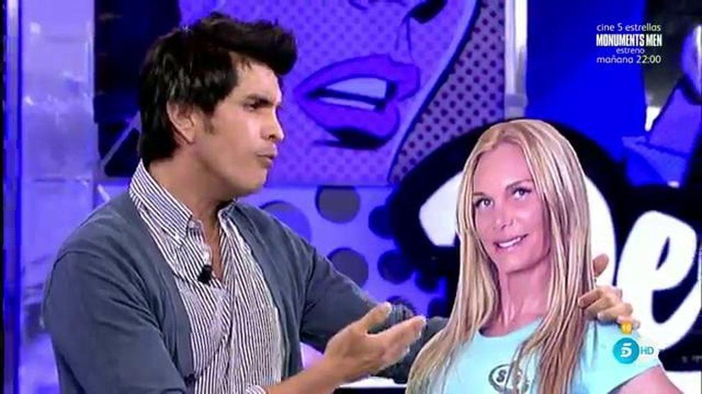 Mario Alberto canta a su ex mujer Yola una canción de su ídolo Chayanne