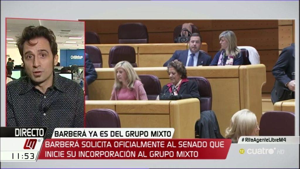 """Javier Gallego: """"Rajoy dice lo de 'pío, pío, que yo no he sido' y Barberá 'santa Rita, Rita, lo que se da no se quita"""""""