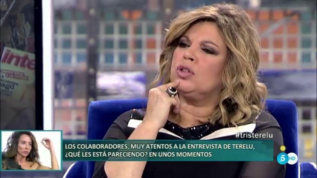 """Mila Ximénez, a Terelu Campos: """"Seguirte como novio es agotador"""""""