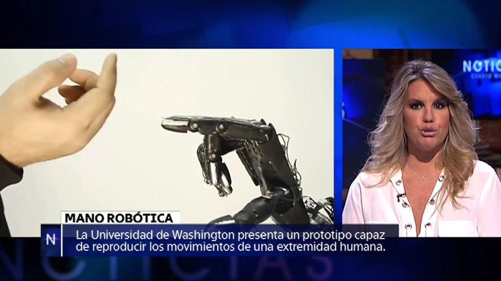 Noticias: La mano robótica; Nuevo monumento en Petra; La casa de Amityville…