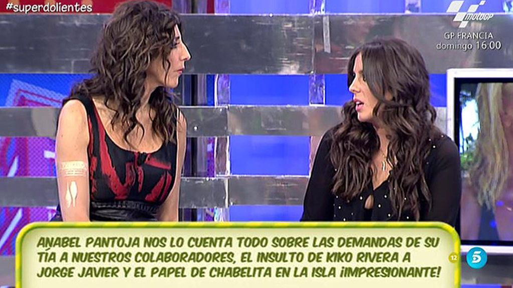 """Anabel Pantoja, de Chabelita: """"Mi prima puede remontar el bajón"""""""