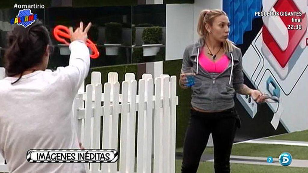 """Lucía acusa a Paula de llamar """"perro"""" a Omar"""