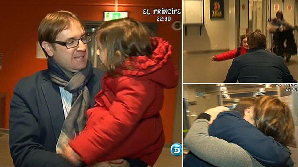 Mónica y sus hijos se mudan a Oslo para estar con Francisco