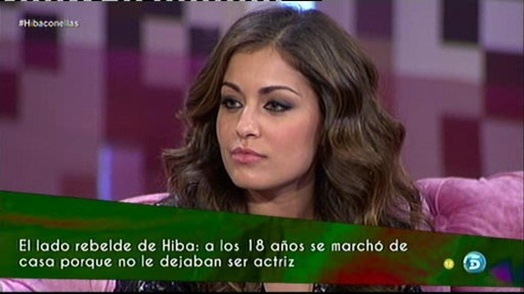 """Hiba: """"Los actores en España no estamos bien considerados"""""""