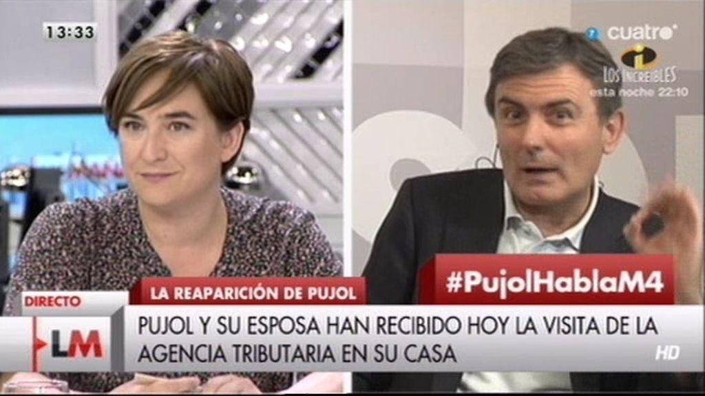 """Pedro Saura: """"El PSOE quiere saber cuánto dinero regularizaron los Pujol"""""""