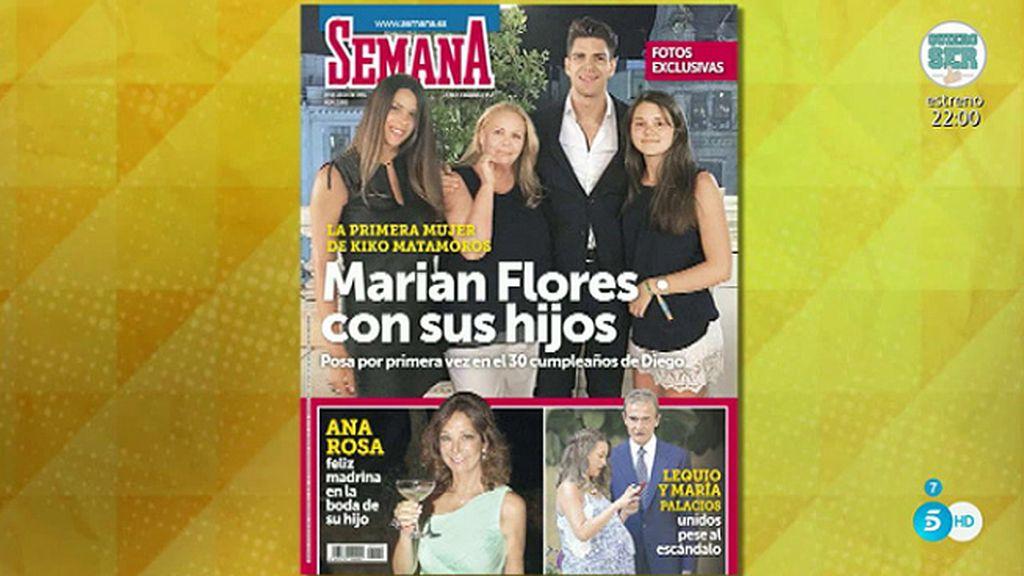 Diego Matamoros siembra la polémica en su familia tras la publicación de una foto