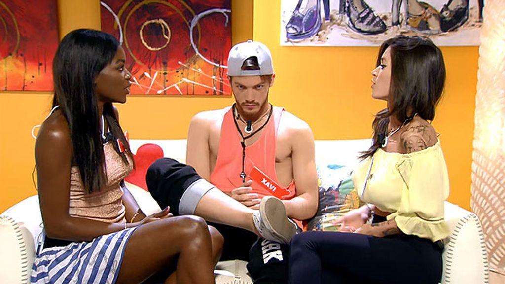 """Fanny, a Xavi tras la interrupción de Fiama en la sala VIP: """"Me siento utilizada"""""""