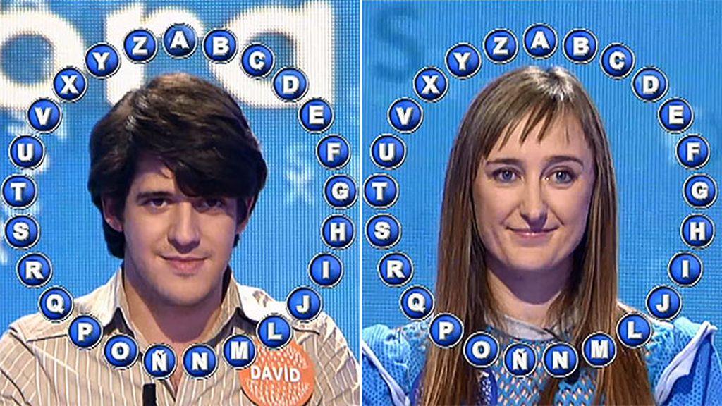 David y Aurora, de nuevo en tablas