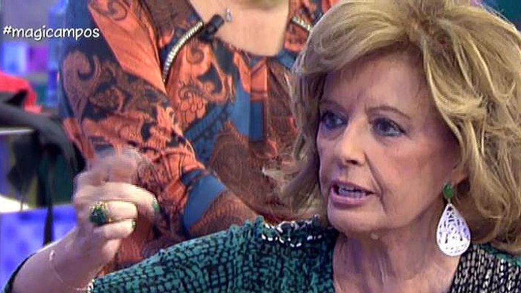 """Mª Teresa: """"Ahora se le critican a Belén las cosas que antes se le aplaudían"""""""