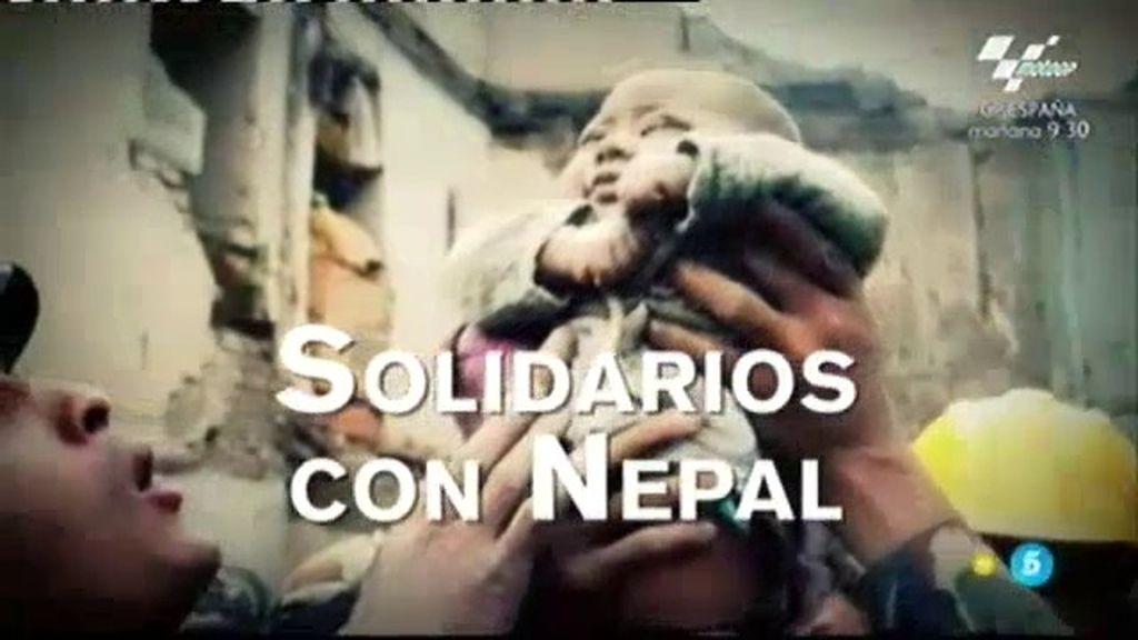 'Un tiempo nuevo' se solidariza con la tragedia de Nepal
