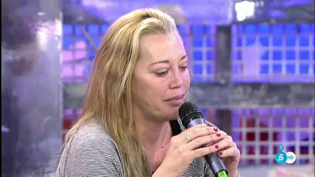 """Belén, a Kiko M.: """"Solo voy a hablar de tu hija y de Javier Tudela como concursantes"""""""