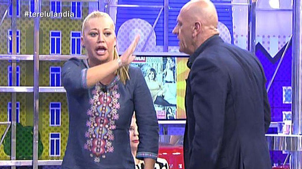 Belén Esteban y Kiko Matamoros protagonizan una monumental bronca