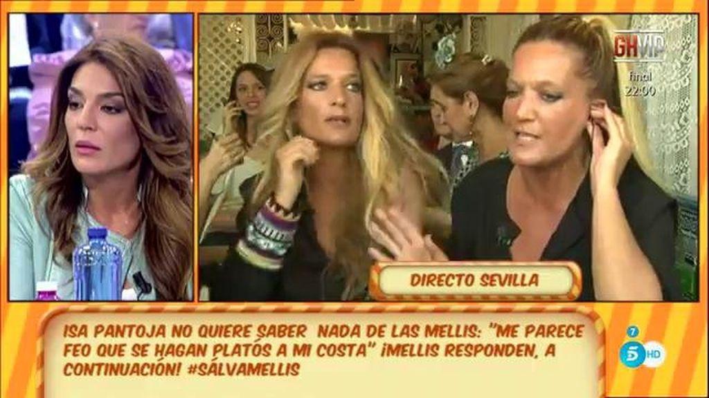 """Raquel, a 'Las Mellis': """"Yo no quiero seguir con el tema"""""""