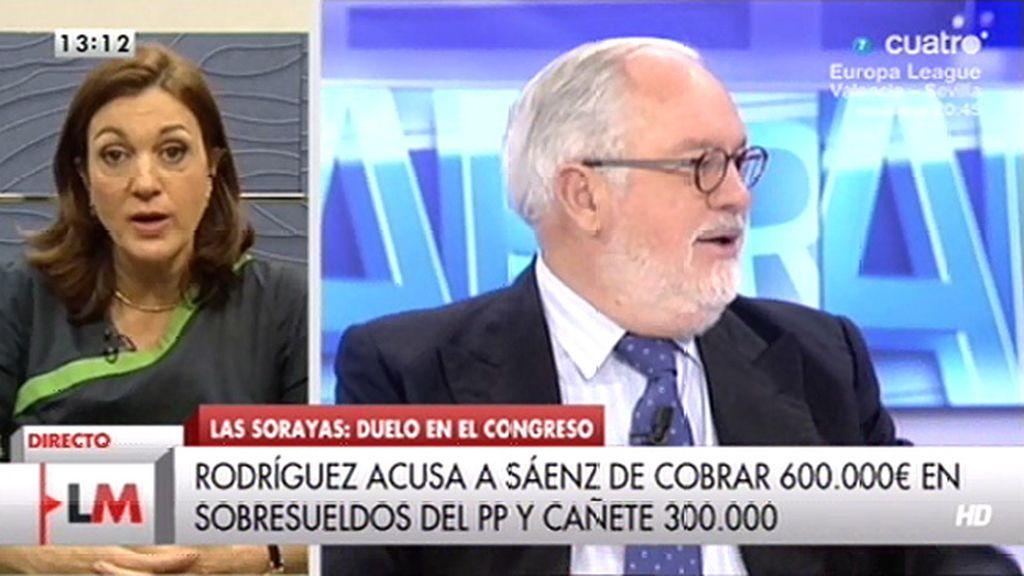 """Rodríguez, de Cañete: """"Que se dedique también un poco a lo suyo, a lo de mentir"""""""