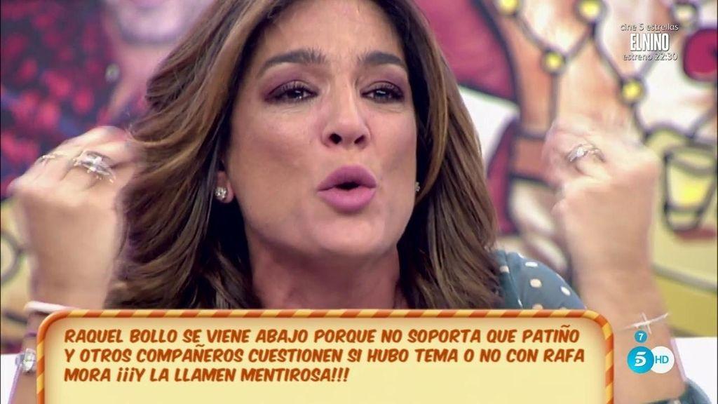 """Raquel Bollo: """"No sería un delito acostarme con una persona, pero no lo he hecho"""""""