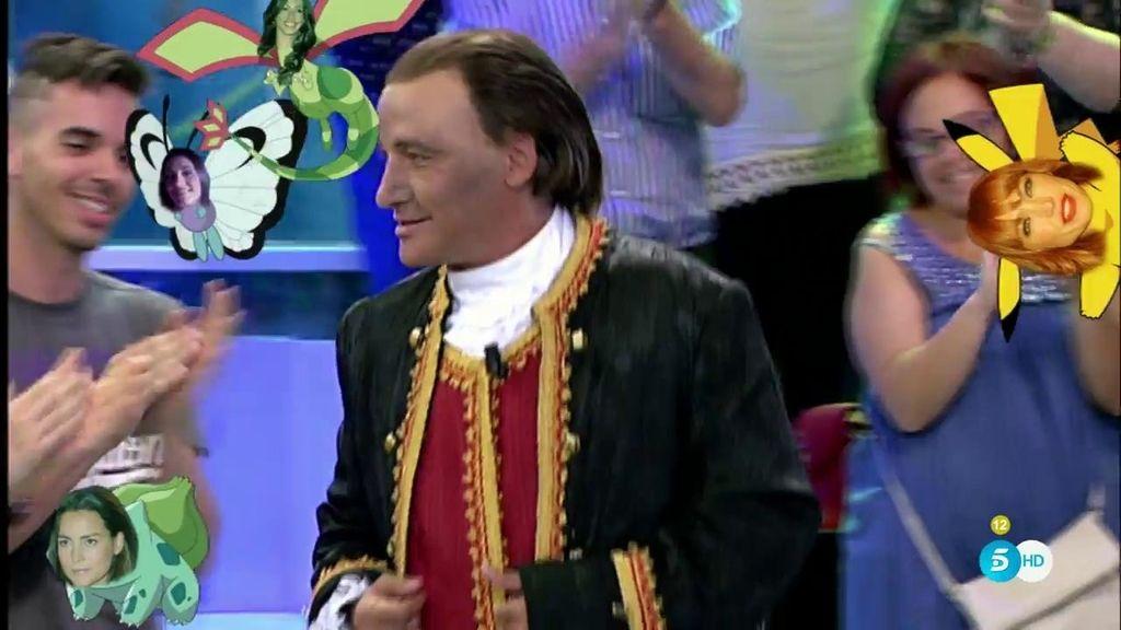 Gustavo se convierte en el conde Lequio
